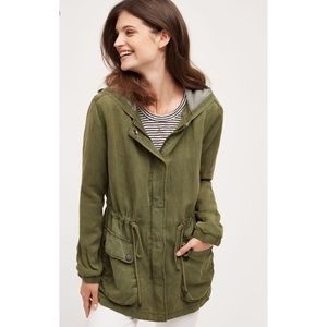 Anthropologie Sanctuary Arlette Hooded Anorak